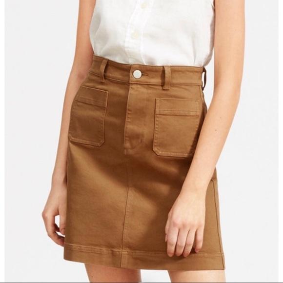 Everlane - The Patch Pocket Skirt -00